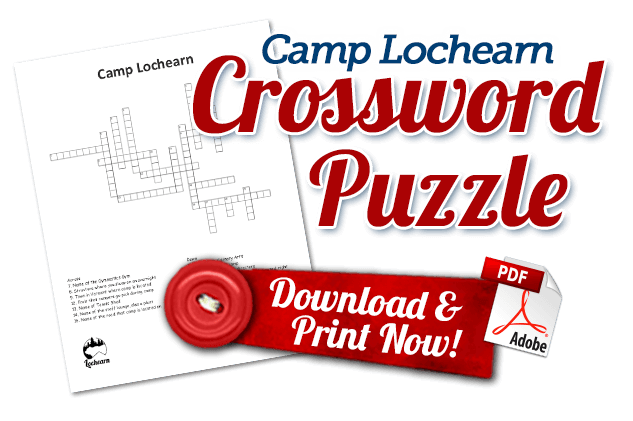 Download and Print Camp Lochearn Crossword Puzzle