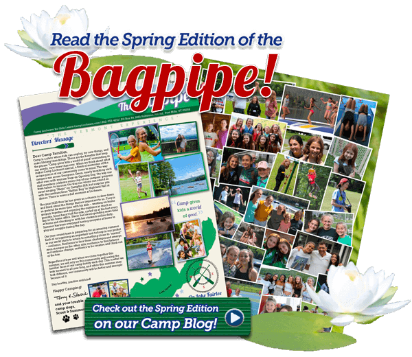 Read the Spring Edition of the Bagpipe!
